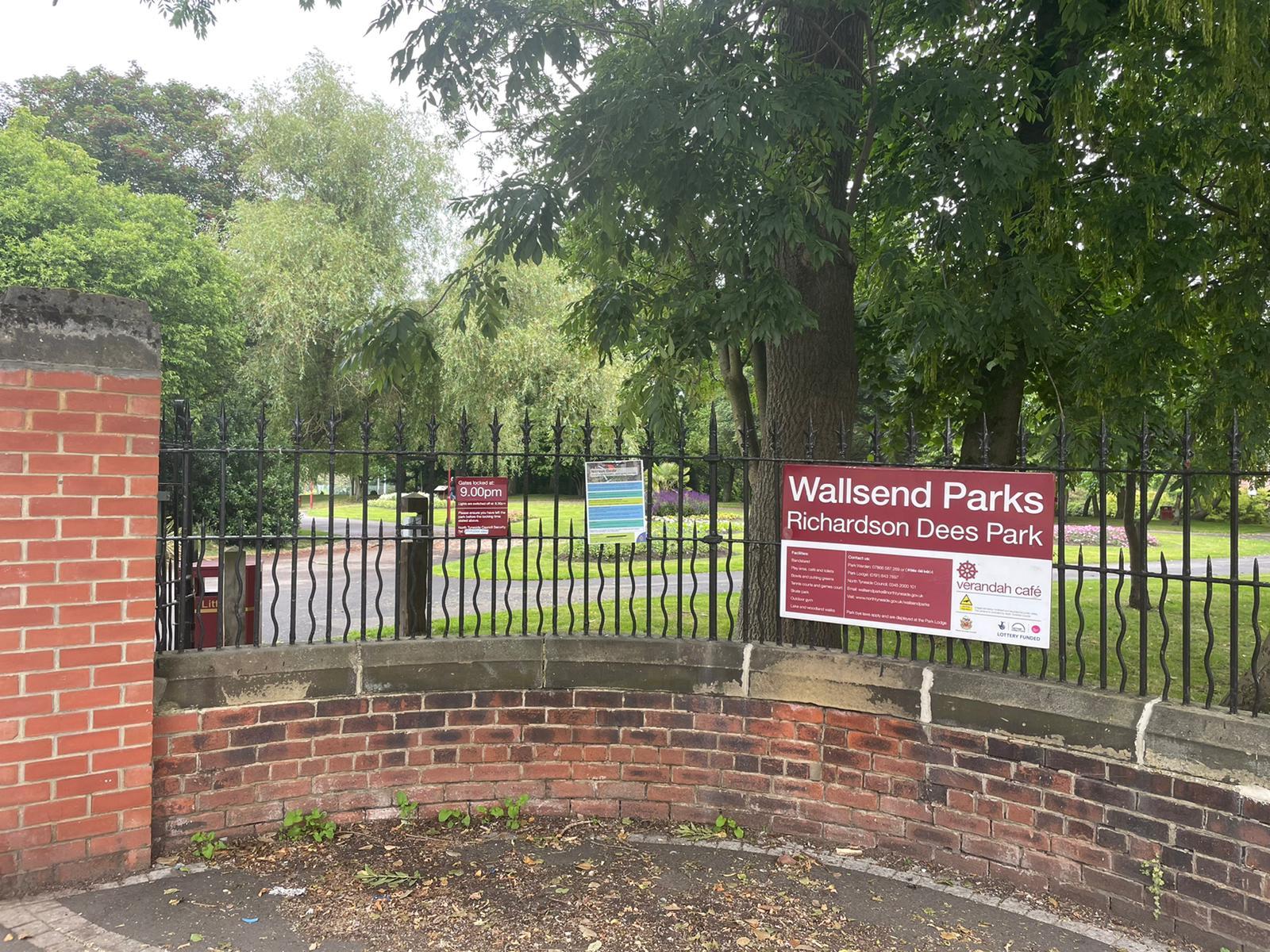 Wallsend Parks Richardson Dees Park 101 North Rd, Wallsend NE28 8RH